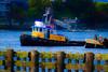 Tugboat in Ballard Ship Canal
