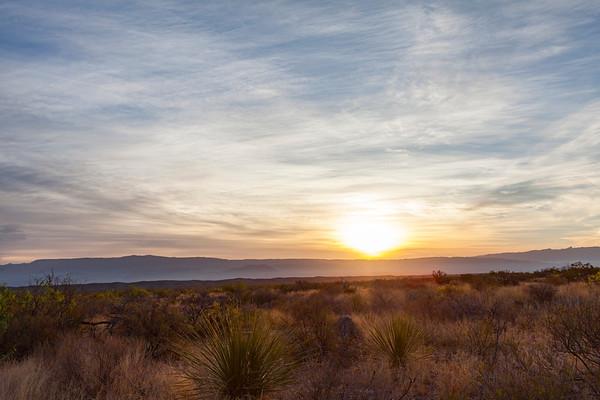 Big Bend Sunrise