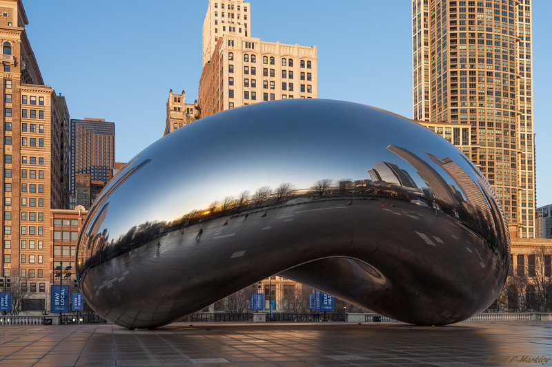 Cloud Gate Dawn