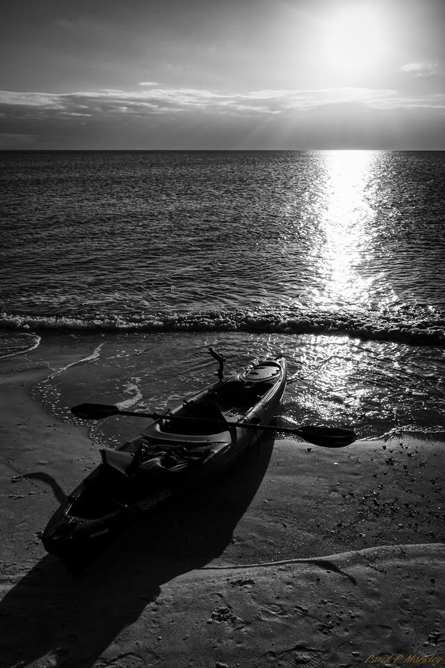 Grounded Kayak