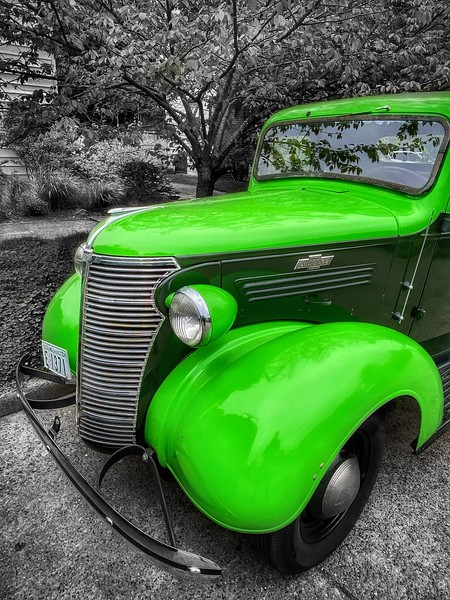 Vintage 1938 Chevy Pickup, Seattle
