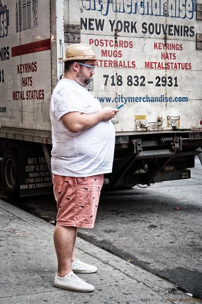 Tourist Texting