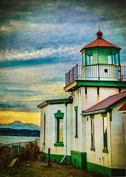 West Point Lighthouse, Seattle.