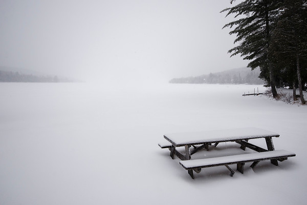 Rangeley Lake, Winter