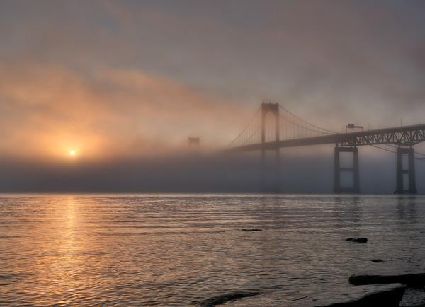 Pell Bridge Sun Fog #2
