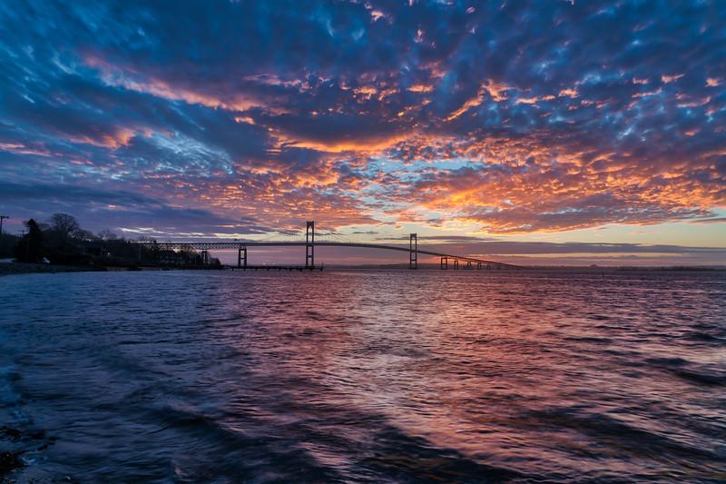 Purple Pell Skies at Sunrise
