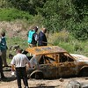 Knysna murder victim's burnt car