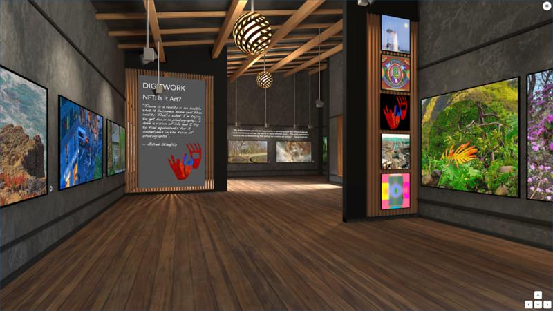 """Dreamscapes at DigitWork I """"NFT: Is it Art?"""""""
