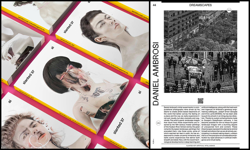 Dreamscapes featured in SLANTED Magazine
