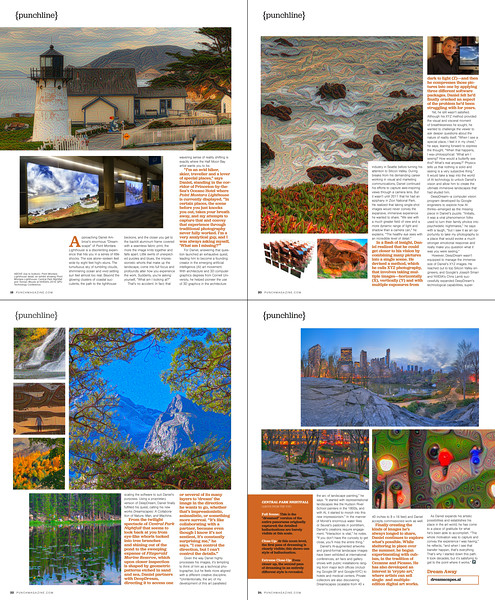 Dreamscapes featured in PUNCH Magazine