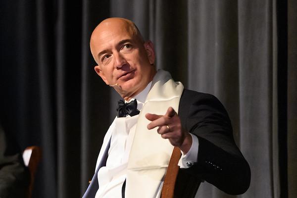 Jeff Bezos at 2016 Pathfinder Awards