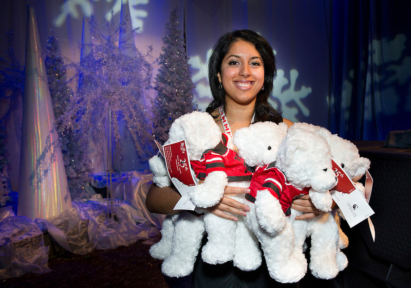 November 05, 2011: The Children's Aid Foundation held it's 25th Teddy Bear Affair at the Metro Toronto Convention Centre in Toronto, Ontario Canada.