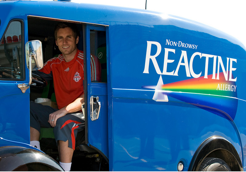 04 March 2009:Toronto FC Reactine Commercial Shoot.