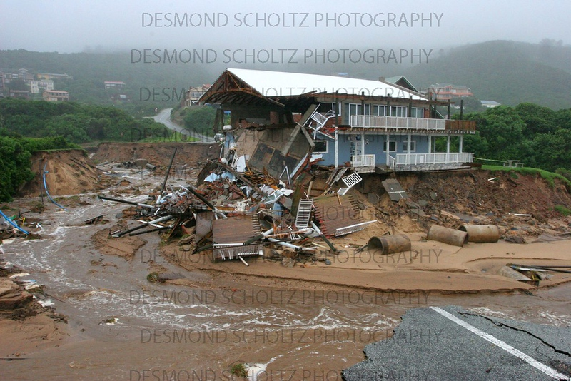 Garden Route flood damage: Sunday Times, Cape Times cover