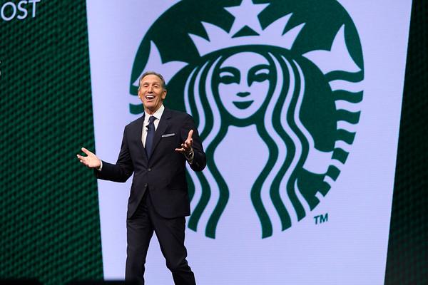 Howard Schultz - Starbucks Annual Shareholders Meeting 2017