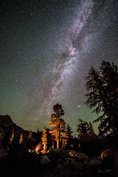 Milky Way over Camp