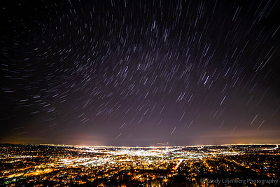 Star Trails over Boulder