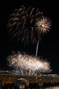 Tempe Town Lake Fireworks