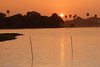 Sunset over Powai Lake, IIT Powai, Mumbai (Bombay), India.