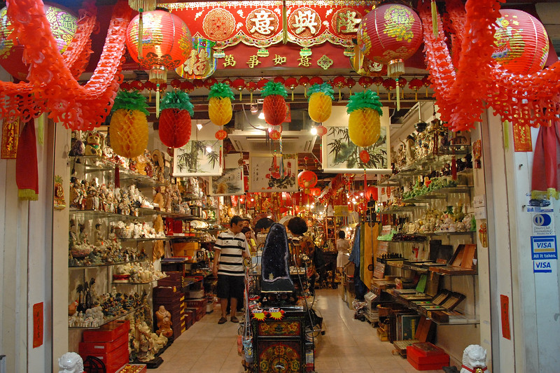 Shop in Singapore.