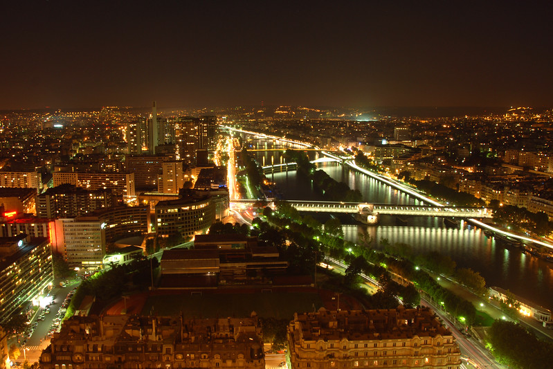 View of Paris from the Eiffel Tower, Paris, France