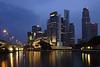 Taken near Fullerton Hotel & the Esplanade in Singapore. 20 second exposure.