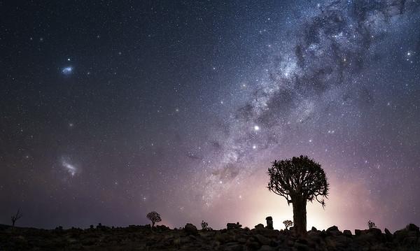 Magallanic Nebulae in Gariganus farm A733958