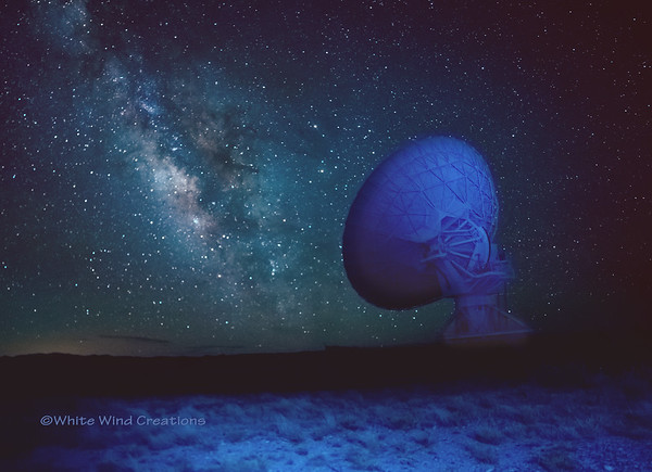 One Magical Moment At The Very Large Array Telescope Field (Socorro, NM)