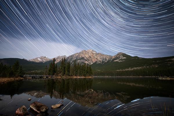 Pyramid Lake - Jasper National Park - Alberta, Canada