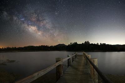 Lake Cuyamaca Milky Way