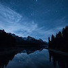 Lake Maligne Moonrise