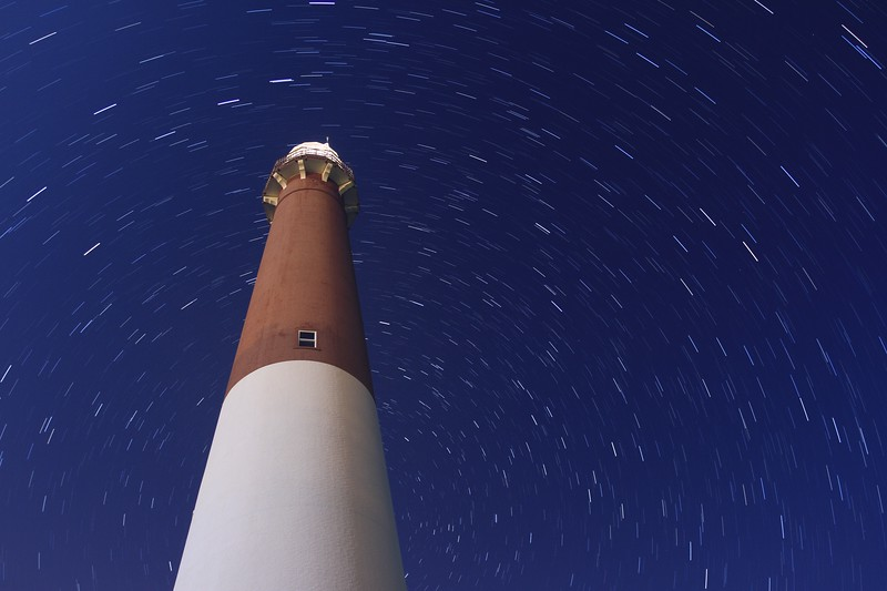 Barnegat Light Star Trails