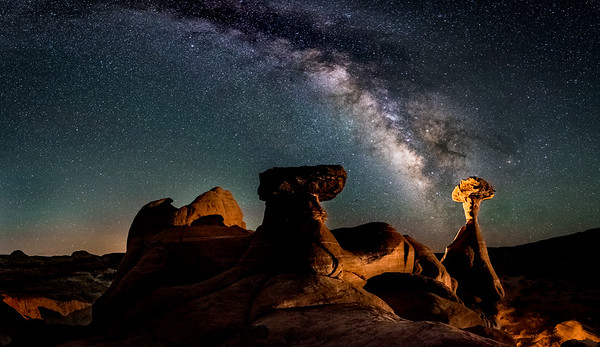 Milky Way and Hoodoos