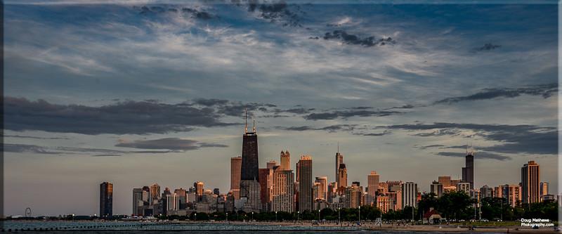 Chicago from Fullerton Beach