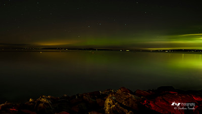 Aurora Dancing over Edmonds