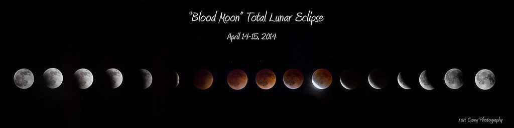 """Blood Moon"" Total Lunar Eclipse, April 14-15 2014"