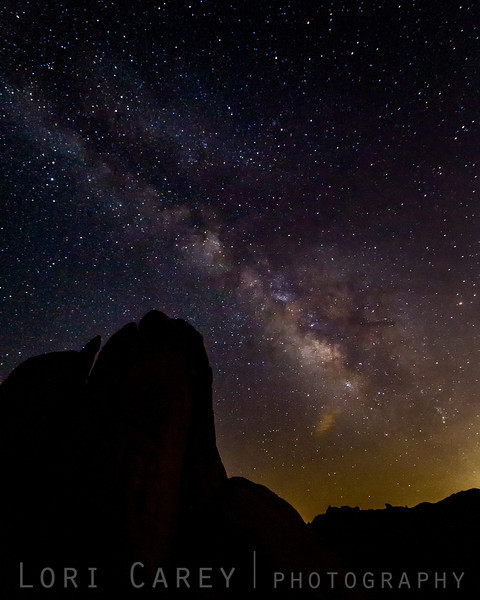 Milky Way galaxy over Joshua Tree NP