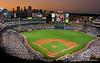 Atlanta Braves and Atlanta Skyline