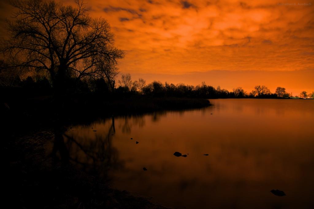McCall Lake at 3:30am