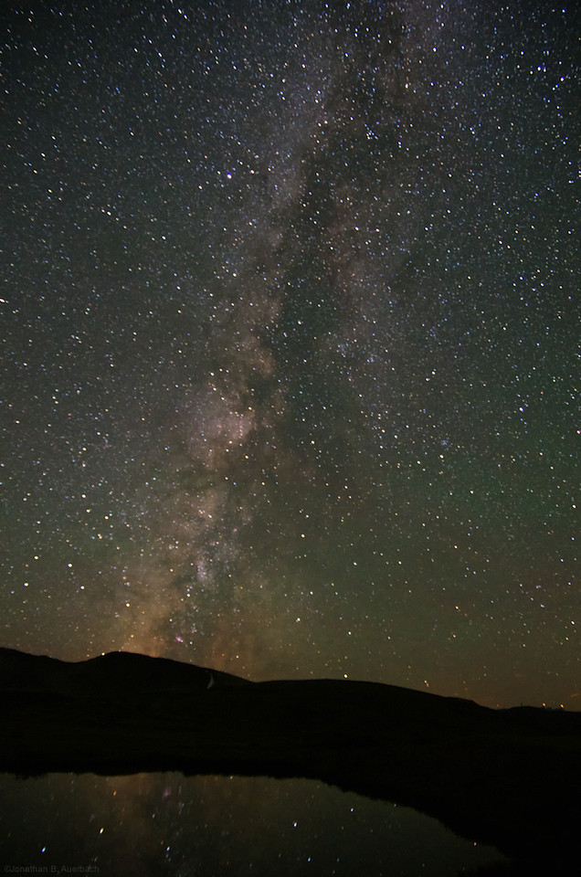 Milky Way Reflection