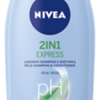 372699 NIVEA Šampoon 2in1 EXPRESS 400 ml 81432 9005800223261