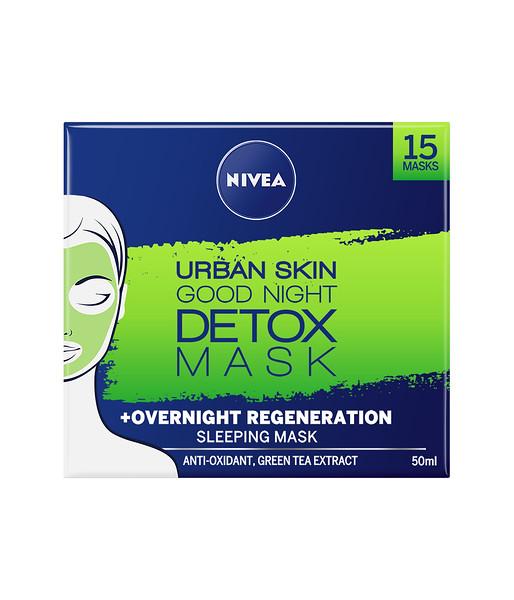 3213199NIVEA Urban Skin Detox Hea ööune mask 50ml 826819005800309286