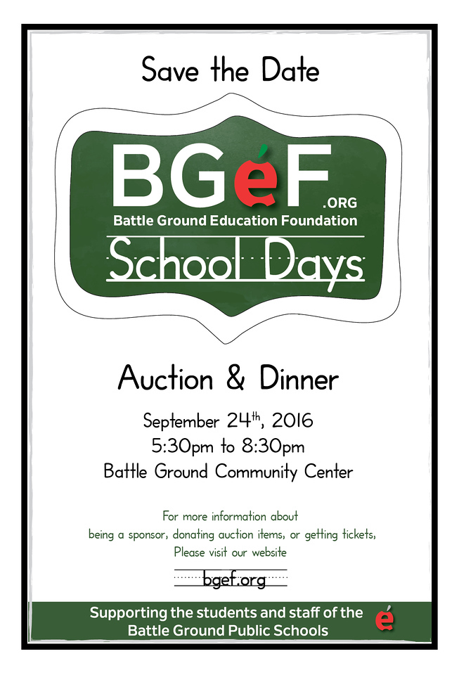 SchoolDays_BGEF_Event Save_The Date_Poster