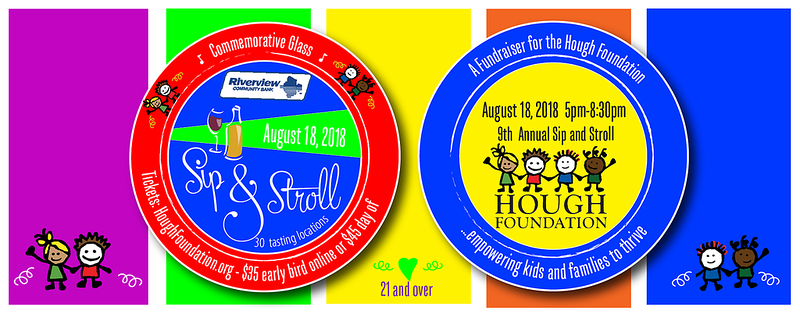 The Hough Foundation 9th Annual Sip and Stroll
