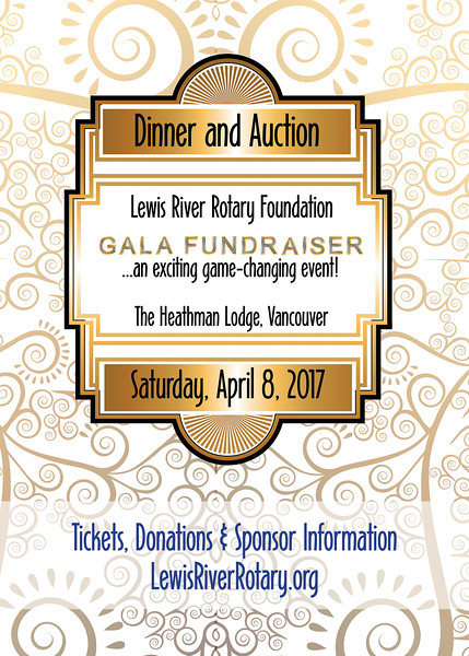 Lewis River Rotary Foundation Gala Fundraiser 2017
