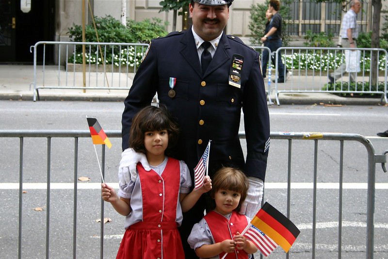 Military parade, Upper East Side, New York 2004 © Copyrights Michel Botman Photography