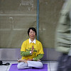 Falun Gong member, New York 2004 © Copyrights Michel Botman Photography