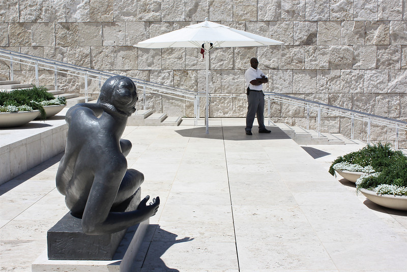Getty Museum, Los Angeles, California (2008) © Copyrights Michel Botman Photography