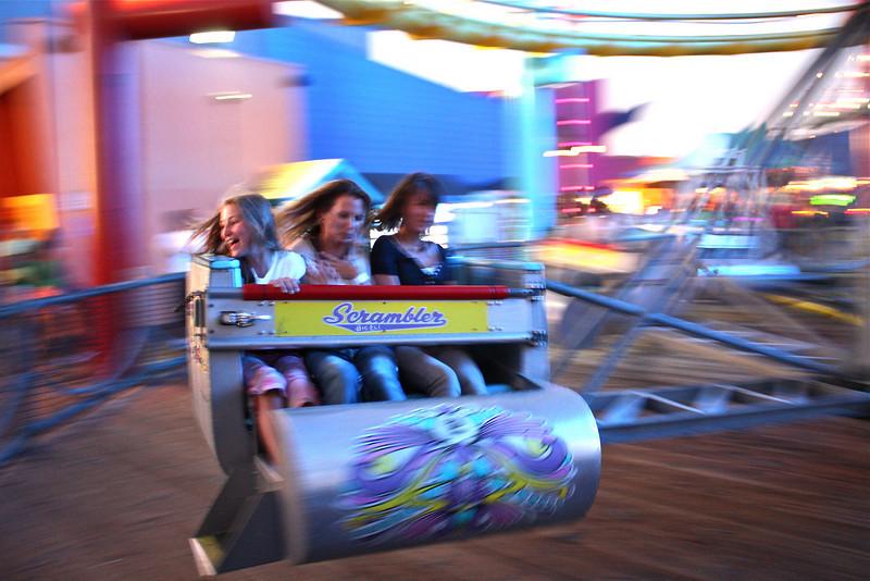 Fair at the pier, Santa Monica, Los Angeles, California (2008) © Copyrights Michel Botman Photography