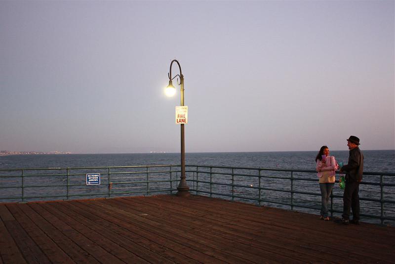 Santa Monica pier, Los Angeles, California (2008) © Copyrights Michel Botman Photography